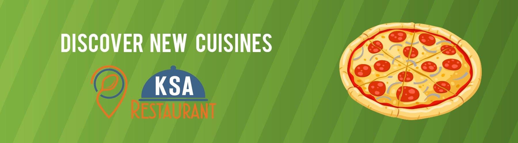 Discover new cuisines in Saudi Arabia.