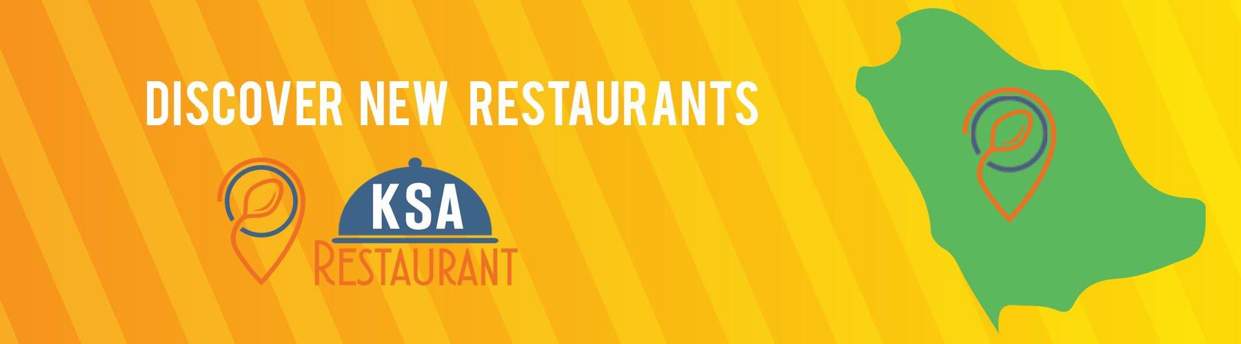 Discover new restaurants in Saudi Arabia.